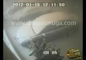 В Киеве пытались ограбить автосалон Bentley
