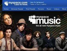 MySpace запустила бесплатный музыкальный сервис