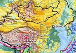 На северо-западе Китая произошло мощное землетрясение: есть жертвы