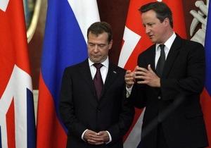 Заявление британского премьера по Грузии не включили в стенограмму Кремля