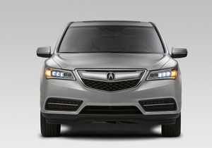 Acura MDX 2014. Дебют нового люксового внедорожника от Honda