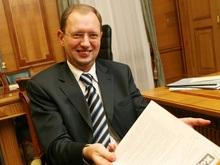 Яценюк презентовал свою книгу