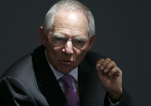 Министр финансов ФРГ: Сокращение долгов - задача всего мира
