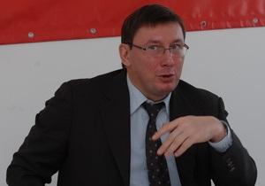 Луценко: Я не считаю, что можно судиться с Президентом