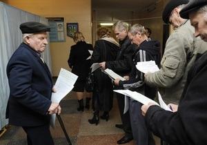МВД: Серьезных нарушений во время выборов не зафиксировано