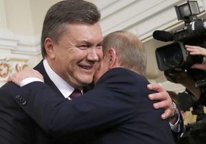 Фотогалерея: Съездил перед выборами. Янукович навестил Путина в Москве