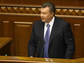 Янукович пообещал, что ПР поддержит все вопросы, вынесенные на внеочередное заседание