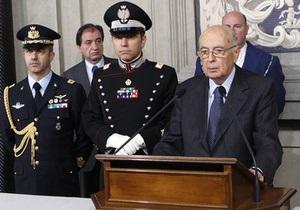 Италия: формированию кабинета поможет  группа экспертов
