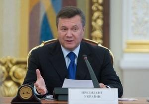 Янукович осуществил кадровые ротации в руководстве внутренних войск МВД