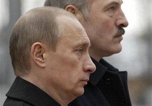 Завтра Путин в Минске будет договариваться с Лукашенко о приватизации