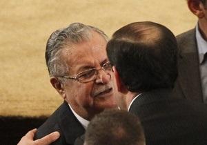 В Ираке президентом вновь стал Джаляль Талабани