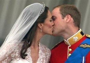 Свадебный поцелуй принца Уильяма и Кейт Миддлтон признан моментом десятилетия на британском ТВ