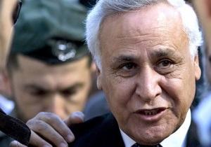 Верховный суд Израиля оставил в силе приговор экс-президенту, осужденному за изнасилование