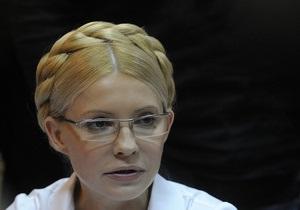 Тимошенко попросит отпустить ее в США для участия в суде против Фирташа