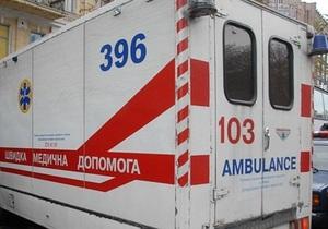 В Днепропетровской области при падении дерева на маршрутное такси пострадали девять человек