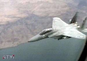 Самолеты израильских ВВС подверглись обстрелу во время полета над Ливаном