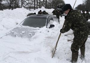 Погода в Украине - ГАИ: Движение транспорта во Львовской области ограничено