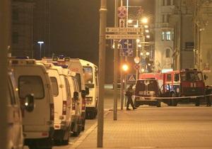 В результате взрыва в минском метро пострадала украинка