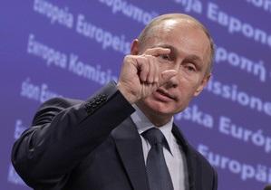 Путин считает первую нитку Северного потока  форточкой в Европу