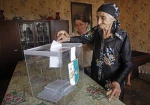 В Абхазии проходит второй тур выборов