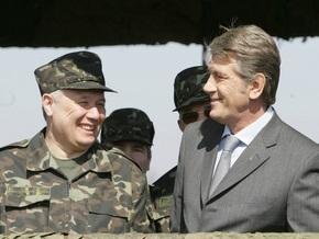 Ехануров доложил Ющенко о  наезде  Тимошенко