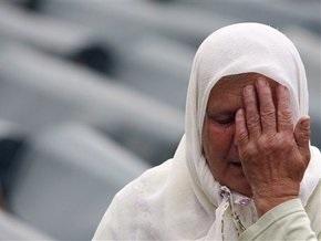 В Боснии похоронили жертв резни в Сребренице