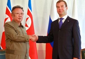 Смерть Ким Чен Ира: Медведев направил соболезнования преемнику лидера КНДР