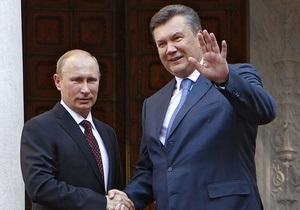 В ПР считают, что встрече Януковича и Путина помешал съезд российских судей