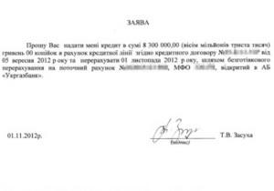 Оппозиция заявила, что Засуха перед выборами взяла кредит в размере более миллиона долларов