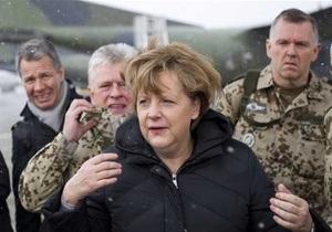 Меркель прибыла с незапланированным визитом в Афганистан