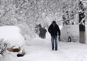 Погода в Украине. Из Киева за выходные вывезли 24 тонн снега