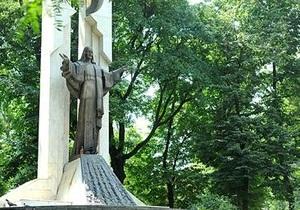 Монумент Христа в Ивано-Франковске подвергся вандализму