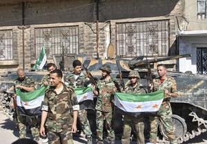 В одном из сирийских городов идут ожесточенные бои: войска Асада несут большие потери