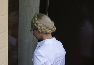 Тимошенко в камере не разрешили пользоваться iPad, однако могут установить телевизор