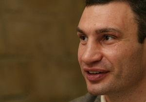 Опрос: Больше половины киевлян доверяют Виталию Кличко