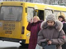 Киев рискует остаться без маршруток