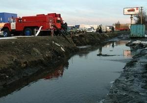 новости Киева - подтопление - наводнение - потоп - снег - В Киеве началось подтопление частных домов, улиц и станции метро - СМИ