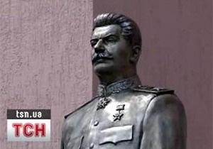Стало известно, кто обезглавил запорожский памятник Сталину