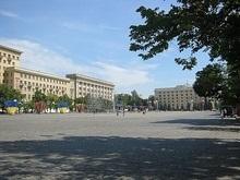 Харьковские депутаты начали заседание под открытым небом