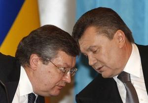 Янукович и Грищенко обсудили график иностранных визитов Президента