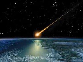 На Канаду упал крупный метеорит