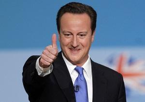 Кэмерон опубликовал список ужинавших с ним финансистов