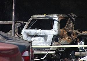 СМИ: Причиной пожара на харьковской стоянке мог стать поджог