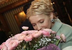 Тимошенко съездила в родной Днепропетровск