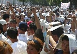 Кыргызстан отмечает пятую годовщину революции тюльпанов