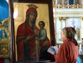 В Киев привезли  антикризисную  икону