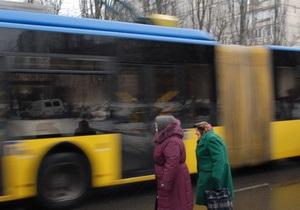 В Киеве ограничили движение троллейбуса №42