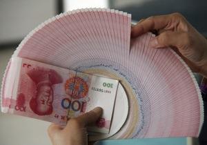 Курс юаня достиг семилетнего максимума