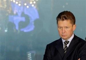 Миллер: Окончательных договоренностей по газу RosUkrEnergo еще нет