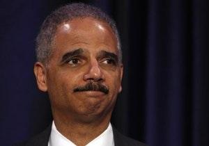 Генпрокурора США обвинили в неуважении к конгрессу